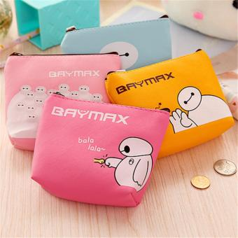 Túi baymax mini ngộ nghĩnh ( hồng)