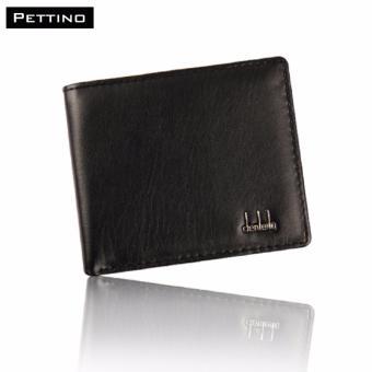 Ví Da Nam Cao Cấp - Pettino VN-02 (đen)