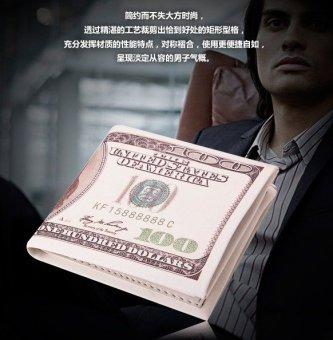 Ví in hình tiền 100 USD Wendy V01 (Mẫu tiền cổ điển)