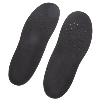 PU Silicone Gel Sports insoles Running Massage Pain Relief Support Shoes(S) - intl