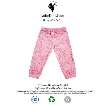 Baby Pink Printed Legging 3-6 months