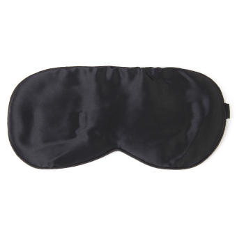 Washable Eye Mask Patch with Adjustable Elastic Head Strap - Intl