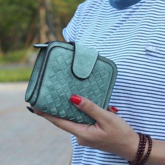 Women Bifold Wallet Clutch Card Holders Purse Short Handbag - intl
