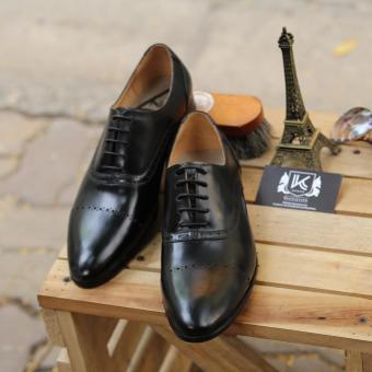 Giày công sở nam KAZIN màu đen KZD0046