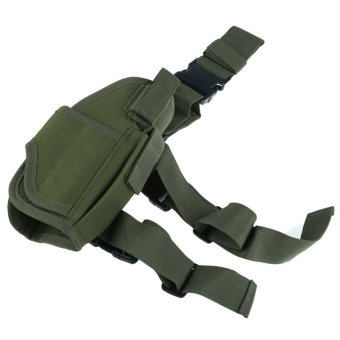 Adjustable Thigh Holster Pouch Green - INTL