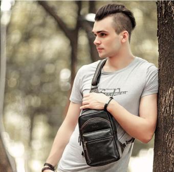 Túi xách nam đeo chéo ngực một quai YOK 2057
