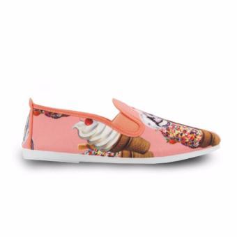Giày Lười Flossy Salou (Cà Rốt Cream)