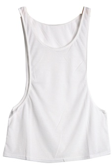 LALANG Sleeveless Waistcoats White