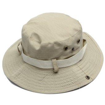 Unisex Military Camo Caps Bucket Camping Hiking Travel Sun Bob Fishing Hats Outdoor Dome Hats - Intl