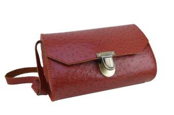 Túi đeo vai giọt nước may tay size nhỏ (Đỏ)