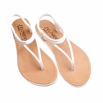 Giày sandals thời trang GD33 (Nâu Trắng)
