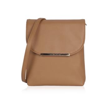 Túi đeo chéo hình chữ nhật Verchini 3950 (Nâu)