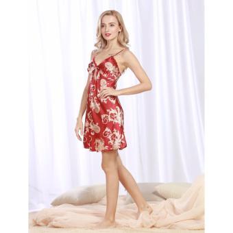 Váy ngủ phi bóng sexy, quyến rũ ZOZO Yaoting VN 6305 (Đỏ)