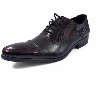 Giày Công Sở Buộc Dây Nam Ensado CS-A63 (Đen)