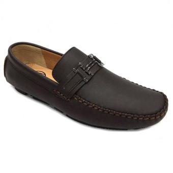 Giày lười da thật nam Everest D17