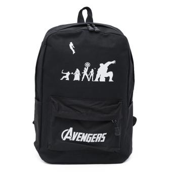 Balo thời trang hình dạ quang BLLT26 (Avengers)