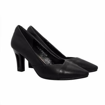Giày Nữ Cao Gót 7cm Da Bò Thật