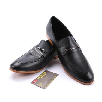 Giày tây nam công sở da thật cao cấp Da Giày Việt Nam VNLMO1A804D