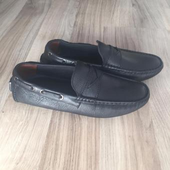 Giày Lười Da Bò Cao Cấp Hè 2017 LG114