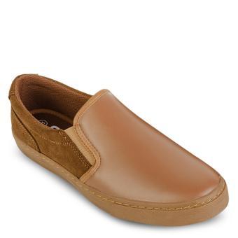 giày da thiên nhiên M138A-BONAU đế màu