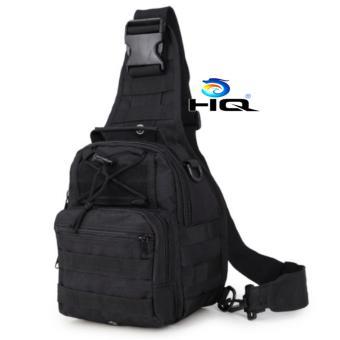 Túi đeo ngực thời trang du lịch phong cách quân đội Mỹ HQ 81TU28 4(đen)