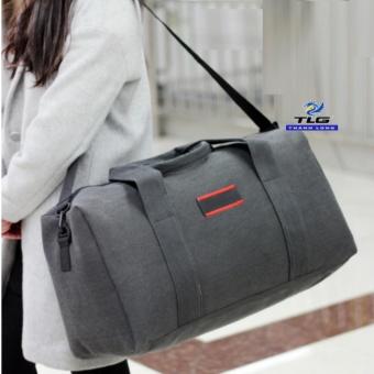 Túi du lich cỡ đại phối da Thành Long TL8140(đen)