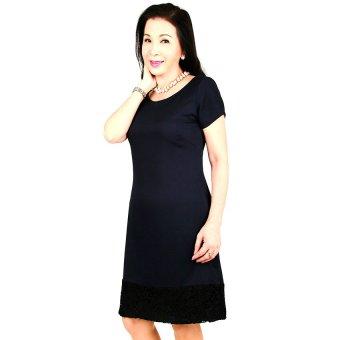 Đầm nữ trung niên Ugether UPAR29 (Xanh Đen)
