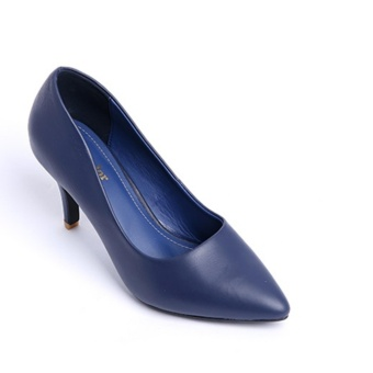 Giày cao gót SJ111 (Xanh)