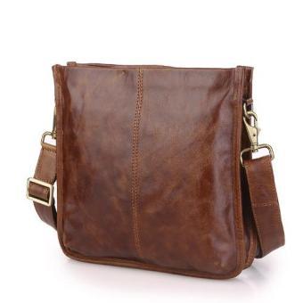 Túi iPad KIKI Bags da thật – K35 (Nâu)
