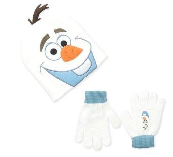 Bộ mũ len & găng tay bé trai Berkshire Big Boys' Frozen Olaf Beanie and Glove Set (Mỹ)