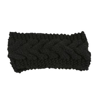 Fancyqube Women Ear Warmer Headwrap Headband Black