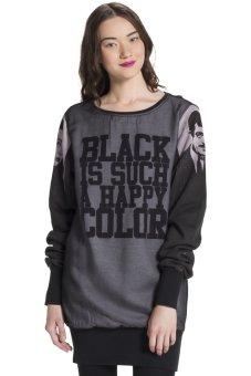 Đầm dáng sweater Blomor BW14648DR (Đen)