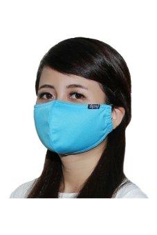 ZIGZAG MAS00107 - Khẩu trang chống nắng UPF50+ (Xanh da trời)