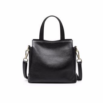 Túi xách nữ da thật cao cấp phong cách Châu Âu QSL097 (Đen) - 4462077