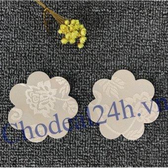 Bộ 16 Miếng Dán đầu ngực loại vải ren (da)