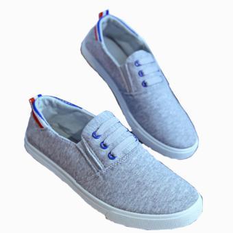 Giày Lười Vải Cho Nam Hot Nhất Năm 2016 (Xám)