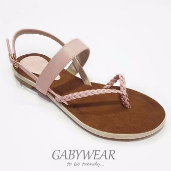 Sandal xẹp bím SX03057Pink