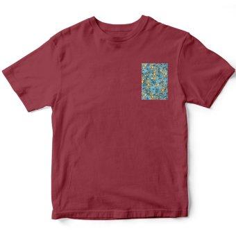 Áo thun nam Floral Pocket 5 Suvi SuviLazTM00163 (Đỏ)