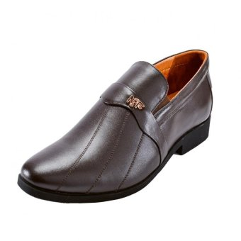 Giày tây nam David NFDAVIDNAU-44 (Nâu)