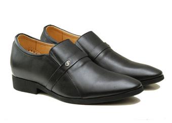 Giày tăng chiều cao nam 6.5cm TT05 (Đen)