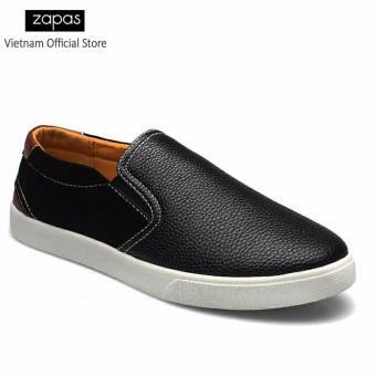 Giày Lười Nam Thời Trang Zapas GL013 ( Đen )