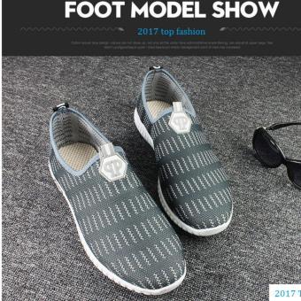 Giày Sneak Thời Trang Nam Sodoha SNT6G686 Gray