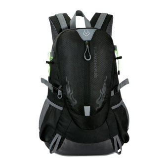 Fahion Waterproof Outdoor port houder Bag Trave backpack (Back) - intl