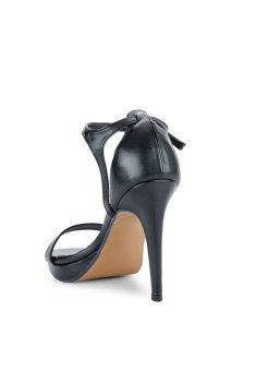 Giày Sandal cao gót Button On BS013-1 (Đen)