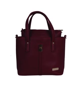 Bộ túi xách da Verchini 3972 (Đỏ Mận)