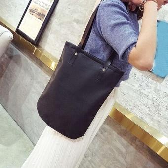 Fashion Women Girls Leather Shopping Handbag Shoulder Tote Shopper Bag - intl