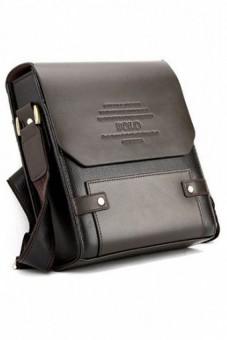 Túi xách da PL1 (Nâu đen)
