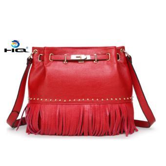 Túi xách nữ da thật cao cấp HQ 8TU56 2(đỏ)