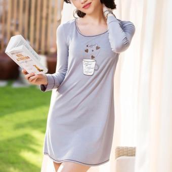 Đầm Ngủ Vera 6313 (Xám)