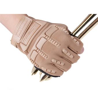 Găng tay da thể thao GT18 (Màu nâu cam)